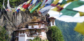 manastirat Takcang v Butan