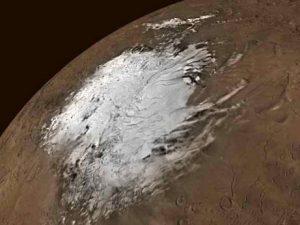 На марсе лед (эксклюзивные фотографии)