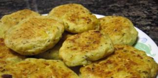 спаначено картофени кюфтета