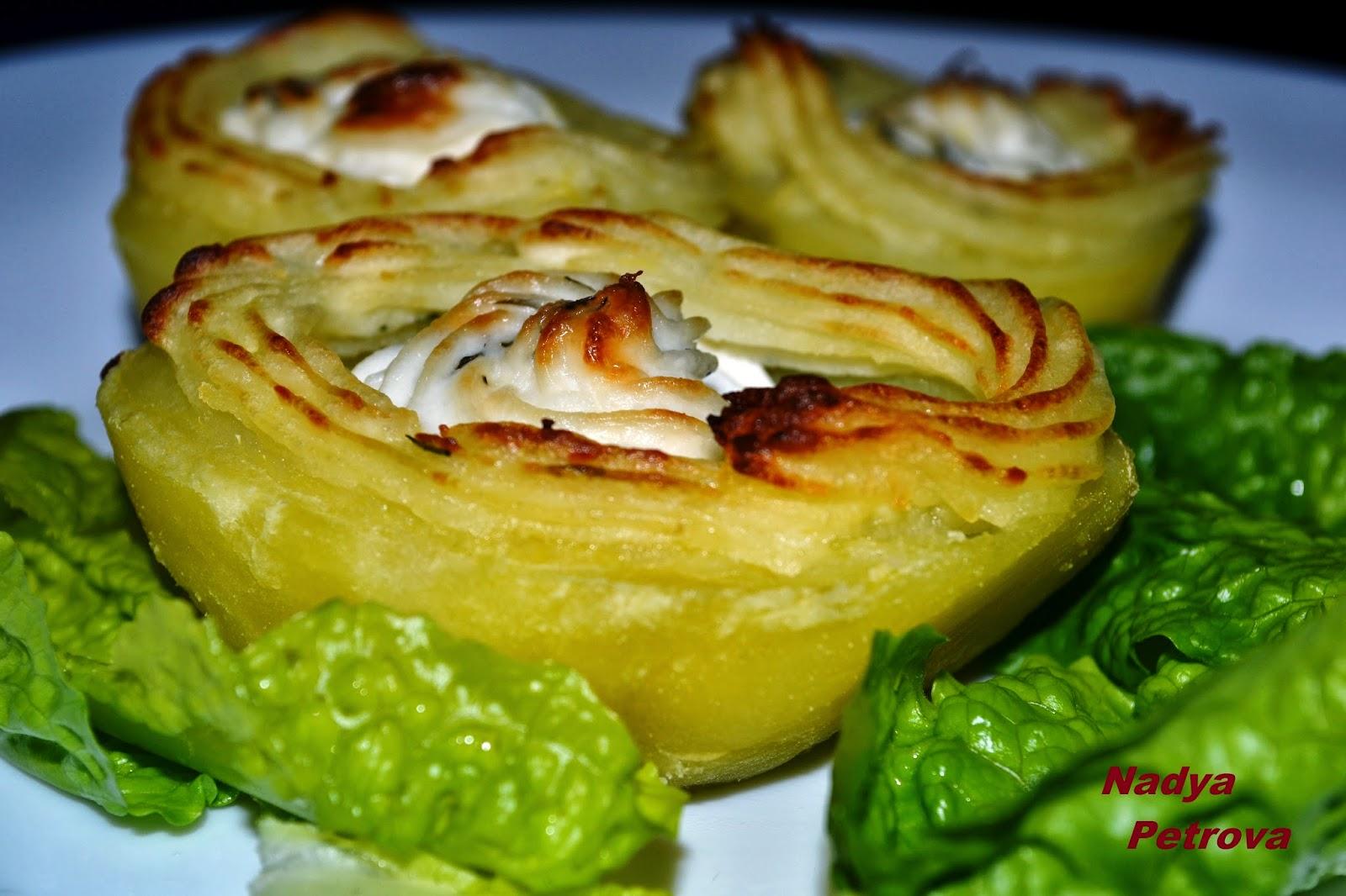 картофени ладийки