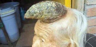 Така изглежда мистериозния драконов рог на главата на баба Лианг.