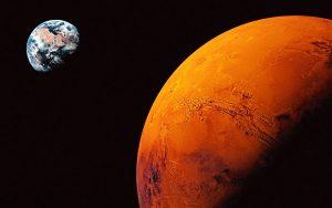 Соларен вятър е погубил живота на Червената планета