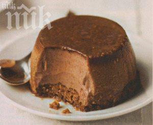 Страшен шоколадов пудинг - лесен и разкошен за празничен повод