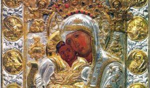 Иконата на Света Богородица Млекопипателница лекува рак