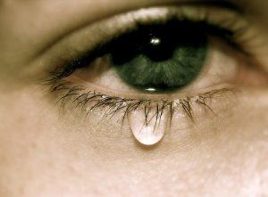 сълзите