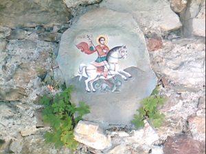 Икона на свети Георги в Гложенскя манастир лекува тежки болести
