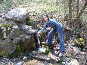 Змей пази живата вода в Боснек