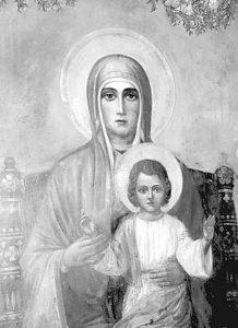 Икона на Дева Мария спасява от болести