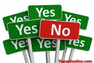 Поэтому мы говорим нет, не обижая других (видео)