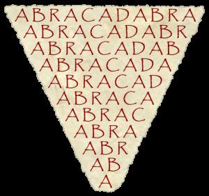 Абракадабра е не само магическа дума, а и лекува