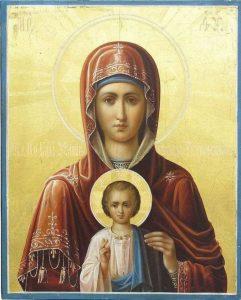 Икона на Света Богородица лекува от тежки болести