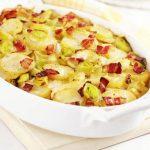 картофи с праз и кашкавал