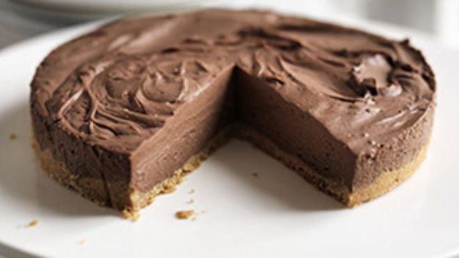 сладкиш с извара и шоколад