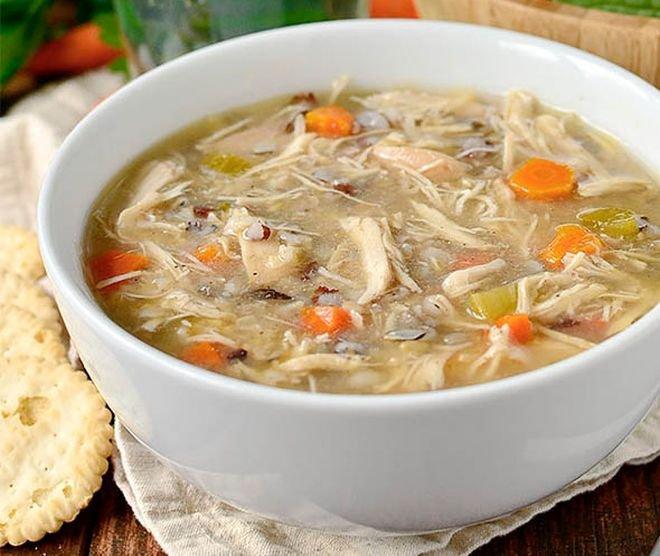 индийска пилешка супа