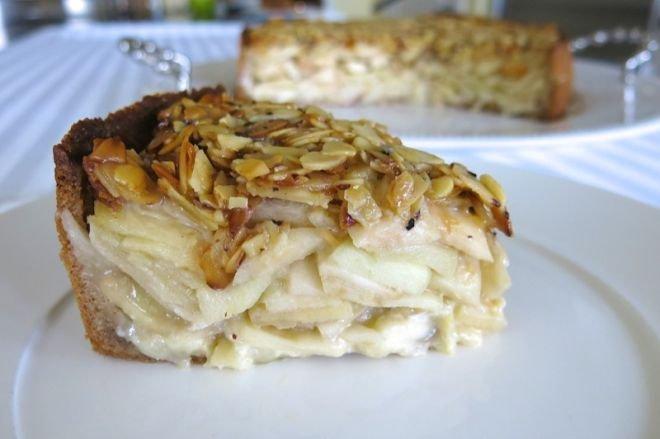 шведска ябълкова торта