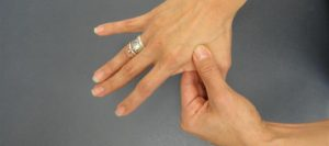 ръката