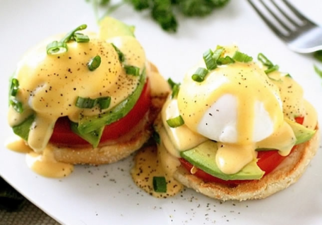 яйца по бенедиктински