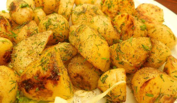 индийски картофки с джинджифил