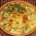 гювече с картофи и сирене