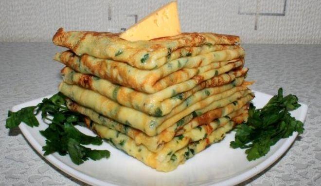зеленчукови палачинки
