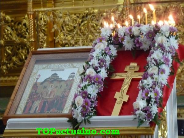 На 1 август изнасят за поклонение Кръста Господен