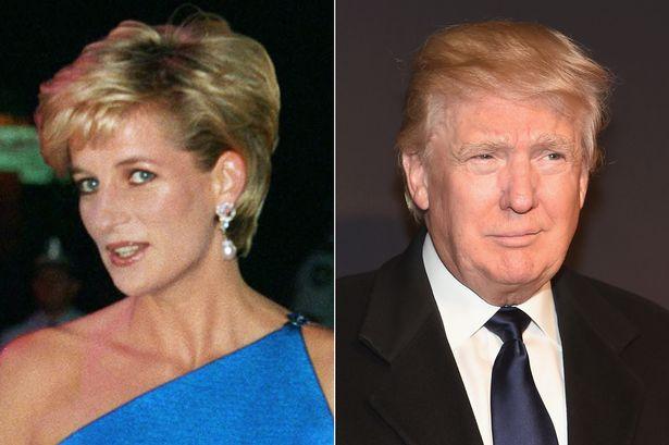 Доналд Тръмп и принцеса Даяна