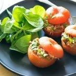 пълнени домати с телешко