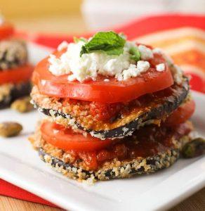 мезе със сини домати