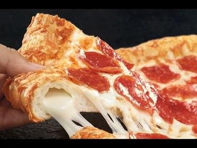 пица с пълнена коричка