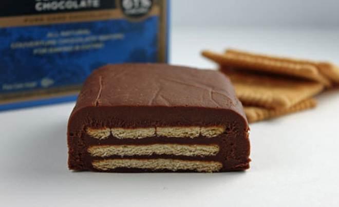 бисквитена торта с шоколад