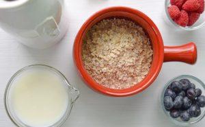 овесено мляко
