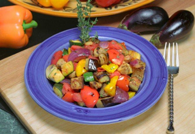 зеленчуци по силициански
