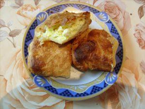 бърза баница с биволско сирене