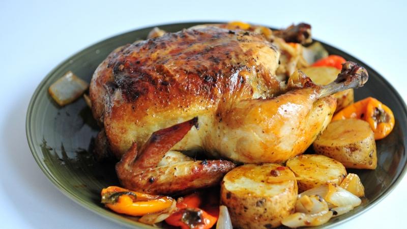 пиле по мадридски