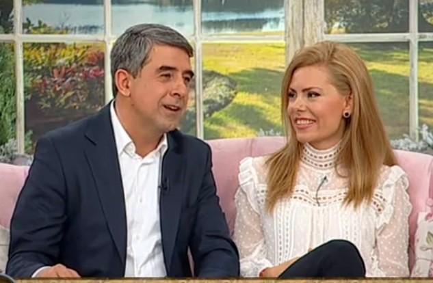 Росен Плевнелиев и Деси Банова