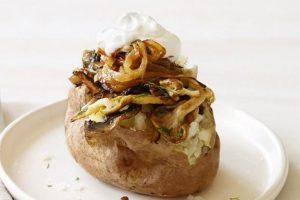 пълнени картофи с гъби