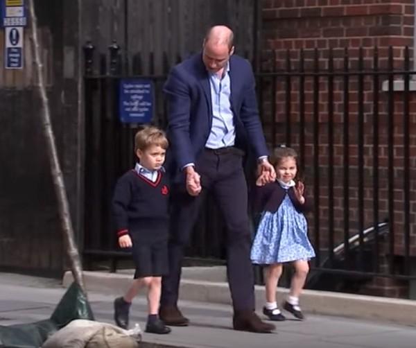 принц Джордж и принцеса Шарлот