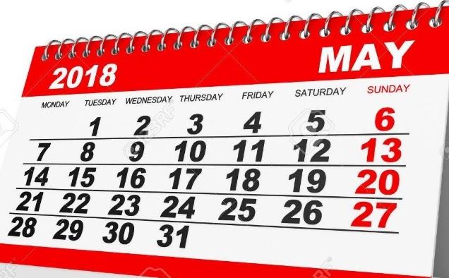 месец май