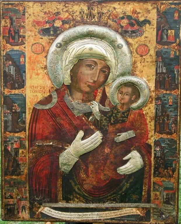 чудотворната икона на Пресвета Богородица Портаитиса