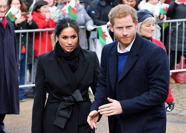 принц Хари и Мегън Маркъл