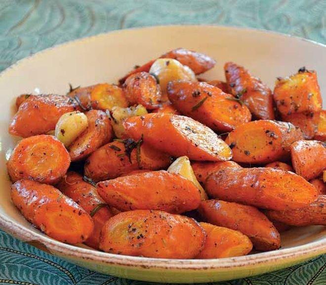 ароматни моркови на фурна