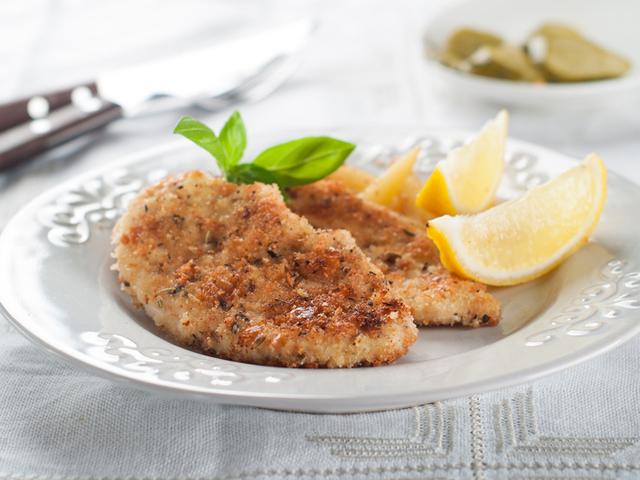 пиле с пармезан и ароматни подправки