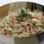 макаронена салата с шунка