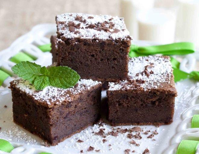 шоколадов сладкиш с мента