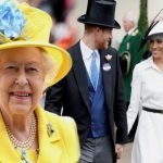 кралица Елизабет херцогиня Мегън