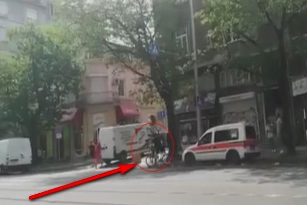 МВР линейката велосипедист