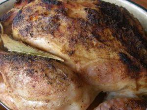 пълнено пиле по италиански