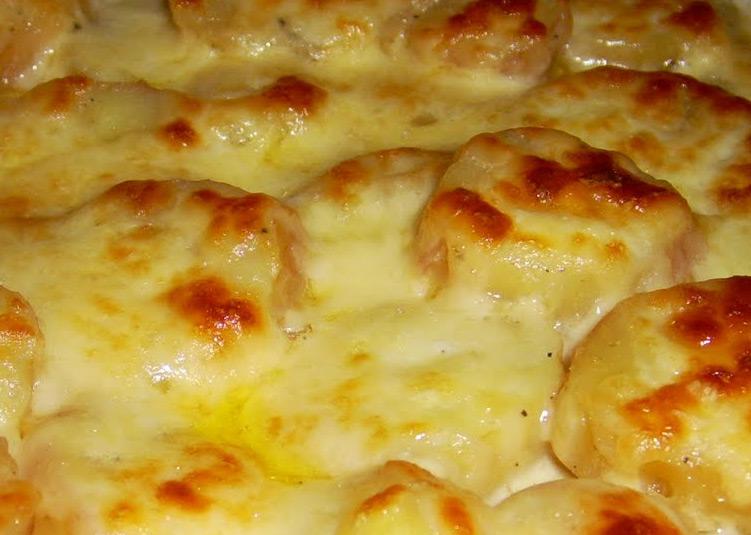 картофи със сирене и кашкавал на фурна