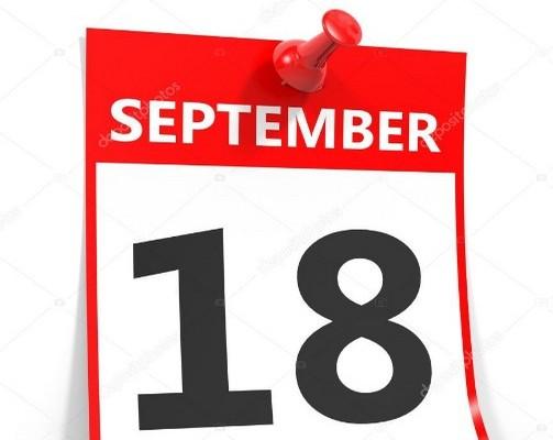 18 септември