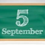 5 септември специален ден
